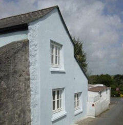 Cornish Blue Cottage Bodmin Moor Cornwall