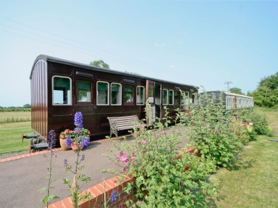 Exterior | Brockford Railway Sidings - Railway Carriage One, Brockford, nr. Stowmarket