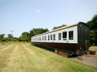 Exterior | Brockford Railway Sidings - Railway Carriage Two, Brockford, nr. Stowmarket