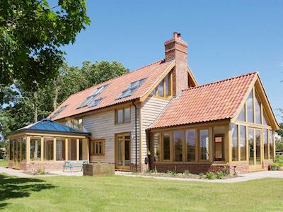 Luxury timber framed holiday accommodation set in open countryside | Green Acre Ranch , Tatterford, near Fakenham