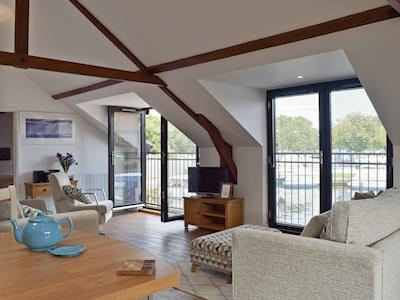 First floor conversion of a detached boat shed | Derby's Loft, Beccles, near Gillingham