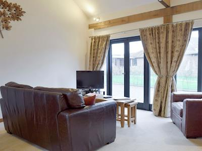 Light and airy living area | Pheasant - Wheatacre Hall Barns, Wheatacre, near Beccles