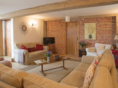 Welcoming living room | Old Corn Mill - Old Hall Farm Cottages, Walpole, near Halesworth