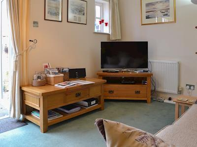 Cosy lounge area | Trentham Cottage, Snettisham, near Hunstanton