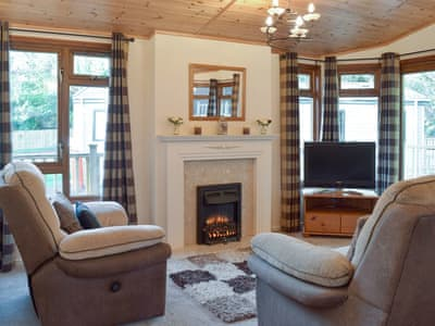 Welcoming living area | Colman Brook Lodge, Corton, near Lowestoft