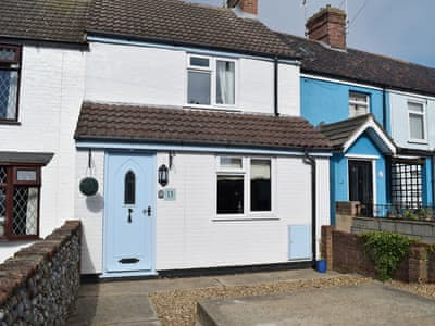 Lovely terraced cottage | Florence Cottage, Pakefield, near Lowestoft