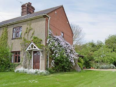 Semi-detached, comfortable holiday cottage | Brandiston Barn Cottage, Cawston, near Norwich