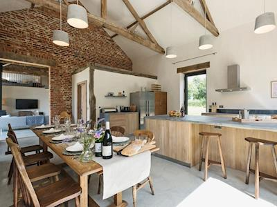 Kitchen & dining area | Old Hall Farm Barn, Kerdiston, near Norwich
