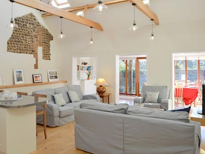 Wonderful open plan living space | The Cattle Sheds, Knapton, near North Walsham