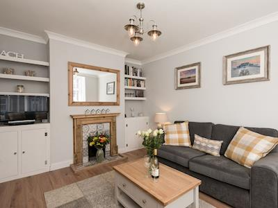Cosy, nicely furnished living room | Amelia House, Sheringham