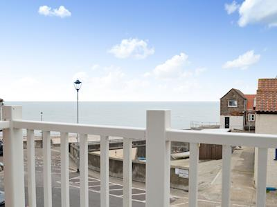 Views from the balcony | High Tide, Sheringham