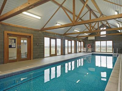 Shared indoor, heated swimming pool | Little Tern, Blyford, near Southwold
