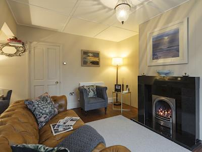 Beautifully decorated living room | St Edmunds House, Southwold
