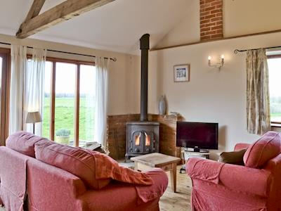 Living room/dining room | The Wood Shed, Hinton, nr. Dunwich