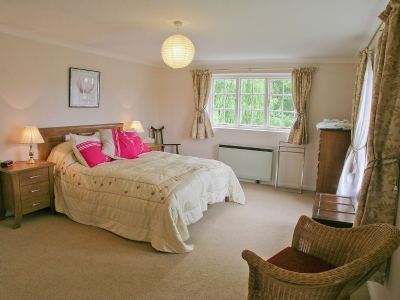 Master bedroom | Lock Cottage, Nayland