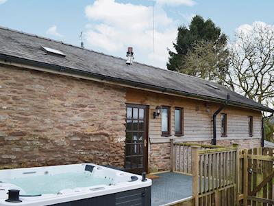 Single storey conversion with private hot tub in a rural setting in the heart of Shropshire | New House Farm - The Barn, Neenton, nr. Bridgnorth