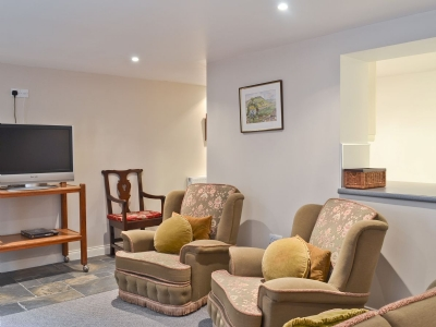 Living room | Thorneycroft -Thorneycroft Apartment, Buxton