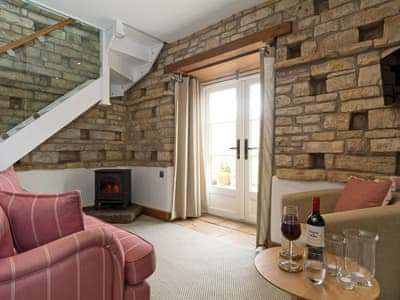 Tastefully furnished living area | The Dovecote, Abson, near Bath