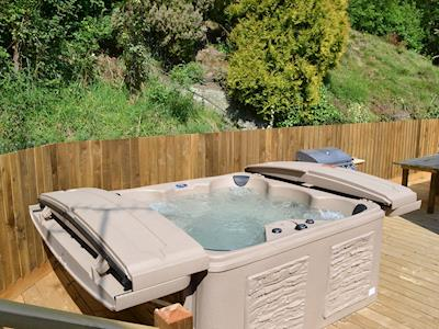 Hot Tub | Burrills View, Horderley, near Craven Arms