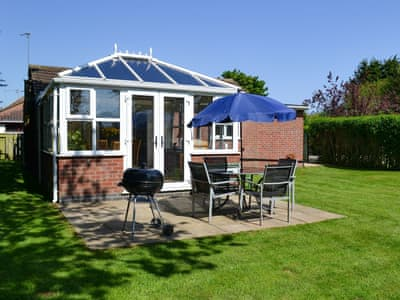 Sitting out area | Rosedene, Mablethorpe