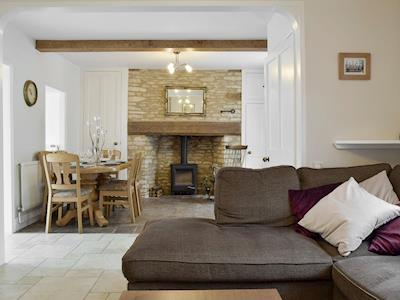 Open aspect from living to dining areas | The Plough, Bampton, near Witney