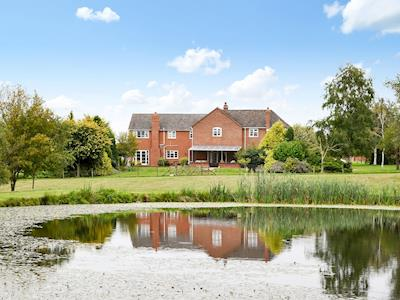Exterior of property set in large garden & grounds | Sporting Heights, Clows Top, near Kidderminster