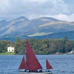 sailing in Lake District