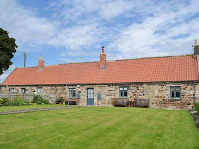 Nestling amid a small row of similar properties in the beautiful village of Shilbottle | Middle Cottage, Shilbottle, near Alnwick