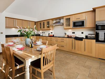 Spacious kitchen and dining room with sitting area | Beehive Barn, near Beal, Berwick-upon-Tweed