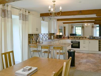 Wonderful kitchen/ dining area | The Grain Rooms - Spindlestone Mill Apartments, Belford, near Bamburgh