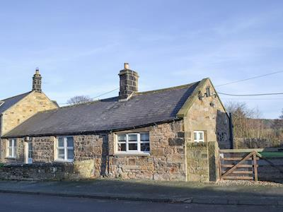 Traditional stone-built cottage | Jenny's Cottage, Chatton, near Alnwick