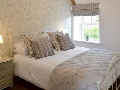 Comfortable double bedroom | Melandra, Belford, near Alnwick