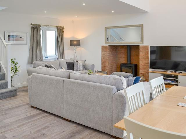 Delightful open plan living space | Dune View, Beadnell, near Alnwick