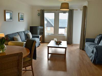 Tastefully furnished living/dining room | Sandy View, Beadnell, near Alnwick