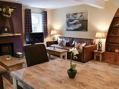 Living/dining room | Wits End, Beadnell, near Seahouses