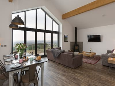 Spacious open plan living space | The Barn, Bishop Auckland