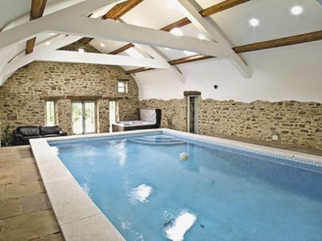 Shared swimming pool | Bowlees Holiday Cottages - Raby Cottage, Wolsingham
