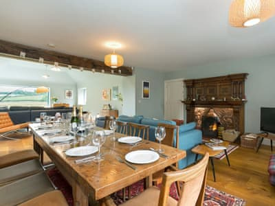 Spacious living/dining room | The Coach House, High Urpeth, near Chester-le-Street