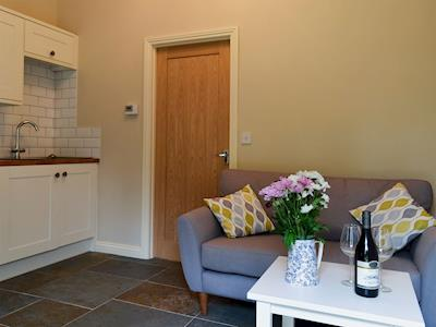 Compact and cosy open plan living space | The Hen House - White House Cottages, Brandon, near Durham