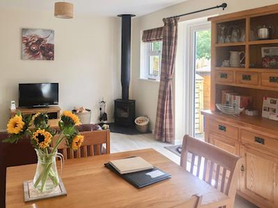Delightful open plan living space | Drakestone Cottage, Harbottle, near Rothbury