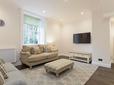 Welcoming living room | Apartment 1 - Hexham House, Hexham
