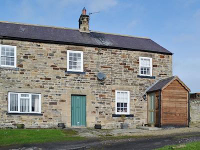 A peaceful rural location makes this stone-built cottage a perfect retreat | No 2 Cottage, Fourstones near Hexham