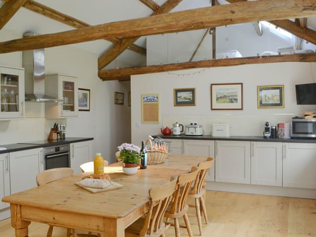 Delightful kitchen/ dining room | The Hayloft - Rose's Bower, Great Whittington, near Corbridge