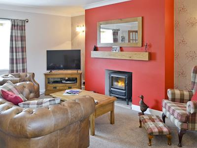 Cosy lounge area | Fisherman's Cottage, Newbiggin-by-the-Sea, near Morpeth