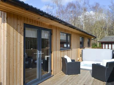 Contemporary lodge-style holiday home | Leafy Retreat - Otterburn Hall Lodges, Otterburn, near Bellingham