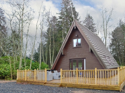 Exterior | Otterburn Hall Lodges -Squirrel Lodge, Otterburn, nr. Bellingham