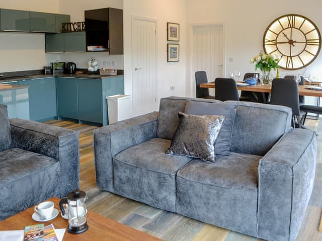 Well presented open plan living space | Framlington Corner - Villa Lane Farm, Longframlington, near Rothbury