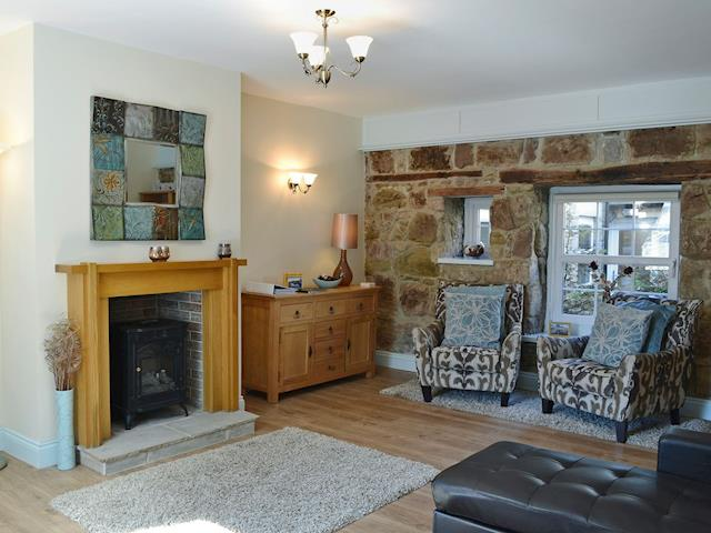 Beautifully presented living room | Sandy Toes - Sandy Toes & Salty Kisses Cottage, Seahouses, near Alnwick