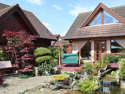 Scandinavian inspired holiday property | Swallow Lodge, Hadston, near Druridge Bay