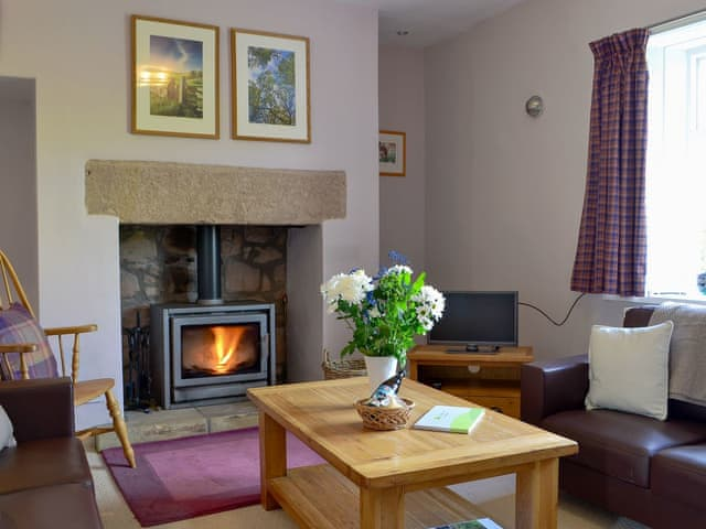 Delightful living room | Sandyhouse Cottage, Milfield, near Wooler